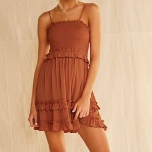 NEW Forever 21 tiered ruffle dress